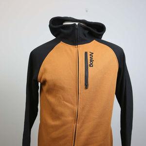 Analog Men's Snb Fleece Hoodie M brown/black RARE